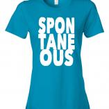 Spontaneous__ladies__caribbean blue